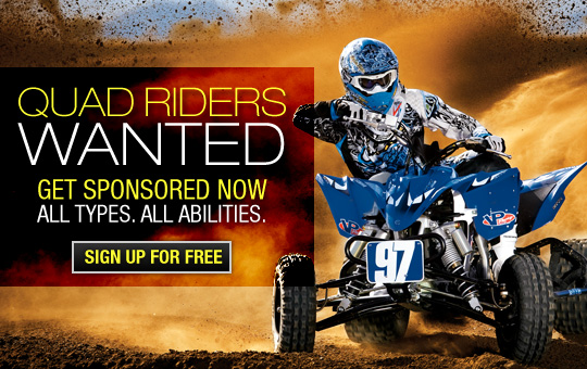 Quad Sponsorships, ATV Sponsorships, Quad Sponsors,